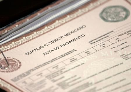 Certified  Notarized Translations of Mexican Birth  Marriage  Divorce Certificates  45