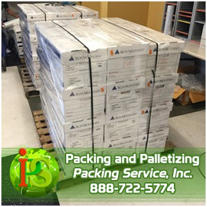 Dallas  TX - Shrink Wrap Palletizing  Palletizing Machinery  Pack and Wrap with Packing Service  Inc