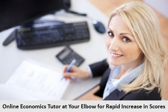 Online Economics Tutor at Your Elbow for Rapid Increase in Scores