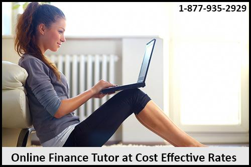 Online Finance Tutor at Cost Effective Rates