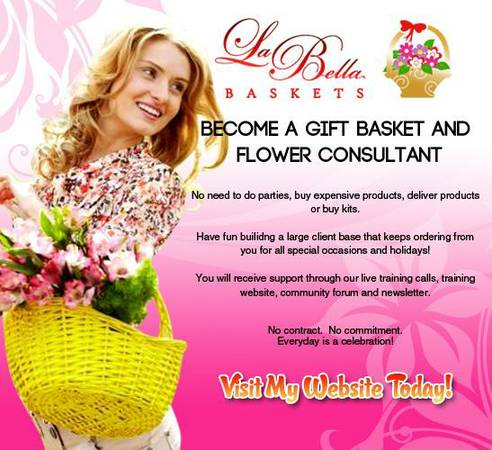 GIFT BASKET CONSULTANT  HOME