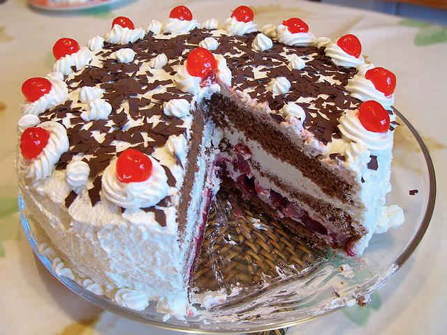A Class on How to Make Black Forest Cake September 19 2 5 hours for  16 Samples provided