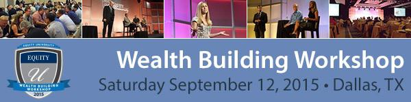 Equity Trust One Time Event  TOMORROW Sat Sept 12  Investors Build Your Wealth