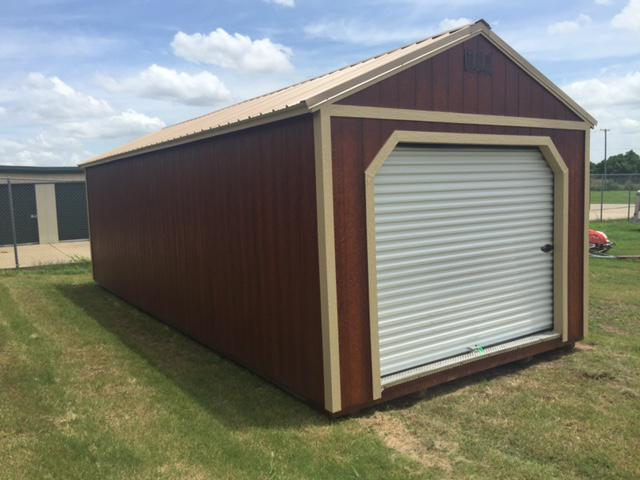 300  Rent to Own Buildings 12x30 Garage