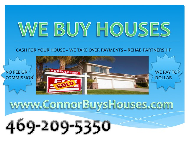 Sell My House Fast 4 CASH Dallas Fort Worth