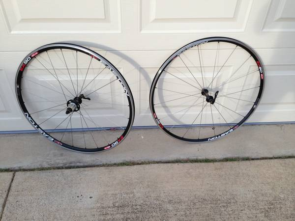 Easton EA 90 SLX clincher wheelset (Cagnolo hub) - $400 (Coppell)