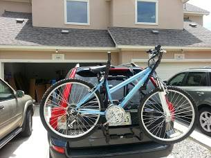 BSI Bell Sports Incorporated Double Bike Trunk Rack car suv multiple - $40 (Allen Arlington Ft Worth)
