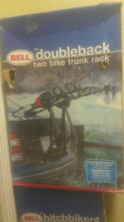 bell 2 bike hitch rack - $40 (fort worth)