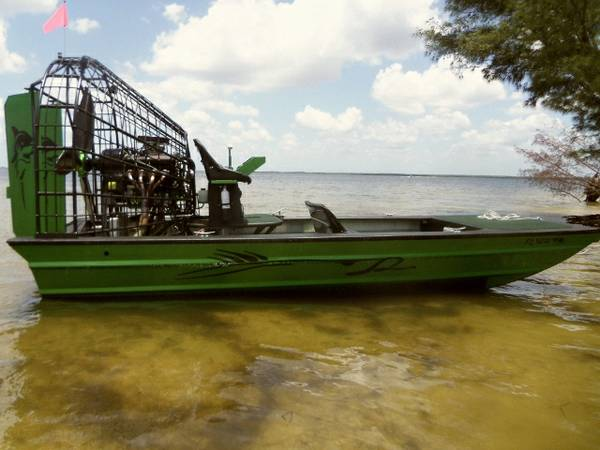 2013 Airboat new 20x8 ready now - $49900 (law division)