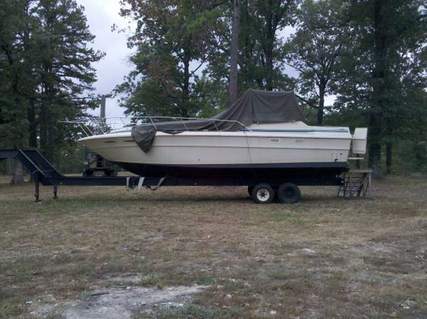 34 ft sea ray - $11500 (tahlequah)