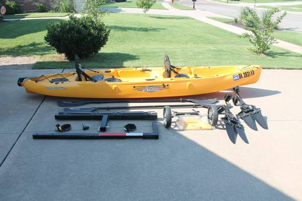 2010 Hobie Mirage Outfitter Kayak (2 Person) - $2000 (Norman, OK)