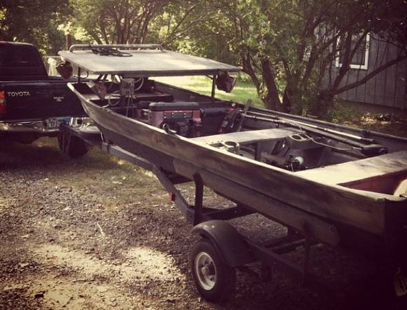 Bowfishing boat for sale - $1500 (Sherman tx)