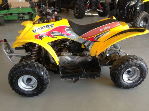Eton 70 mini Four Wheeler - $1100 (Calera ok)