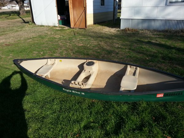 Rogue river 14 canoe for sale