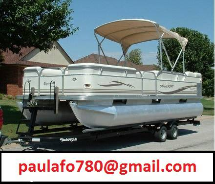 $$2005 Starcraft 24FT Pontoon boat 90HP MERC4STROKE NICE$$ - $2400