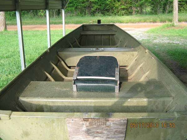 14 ft. Lowe flat bottom boat - $550 (Durant,Ok)