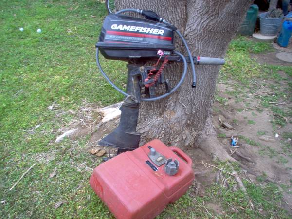 5HP gamefisher outboard motor - $300 (Gainesville Texas)