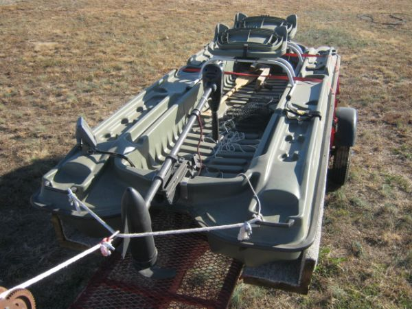 2 Man bass boat - $1100 (Honey Grove, Tx)