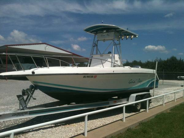 1991 23ft Baja Center Console w 200hp Yamaha - $8500 (Pottsboro, TX)