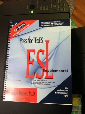 154 ESL Supplemental study guide  -   x0024 25  Whitesboro Gainesville