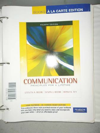 Communication Principles for a Lifetime -Grayson College SPEECH 1311 -   x0024 20  Sherman