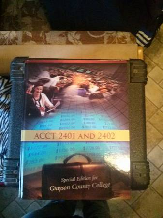 accounting book for Grayson College -   x0024 40  pottsboro