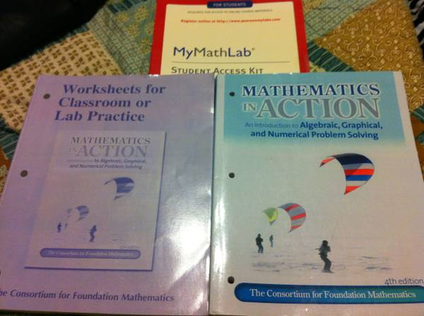 Mathematics in Action 4th ed   Anna Denison  TX