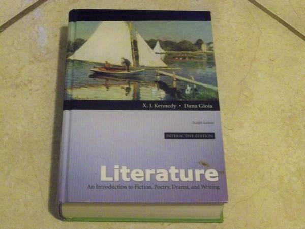 Literature An Introduction to Fiction, Poetry, Darma, and Writing - $1 (West DallasGrand PrarieArlington)