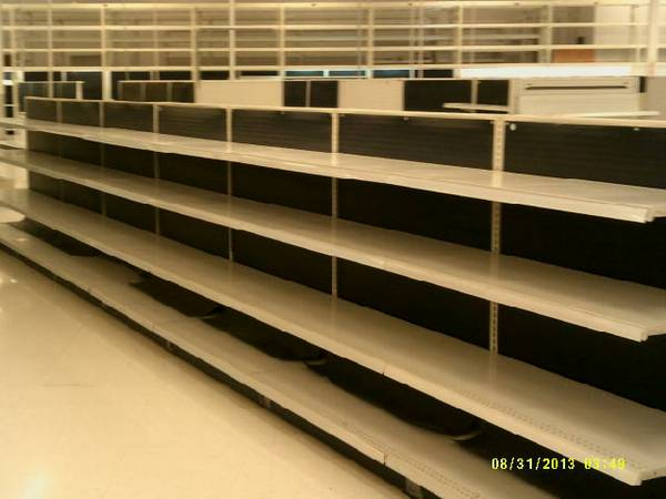 Lozier Gondola Store Shelving and Store Fixtures Liquidation Sale (Sherman)