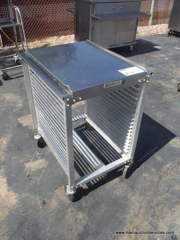 1  Full size half height speed rack restaurant equipment