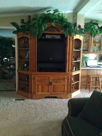 Entertainment Center - Broyhill - $350 (Boswell Oklahoma)