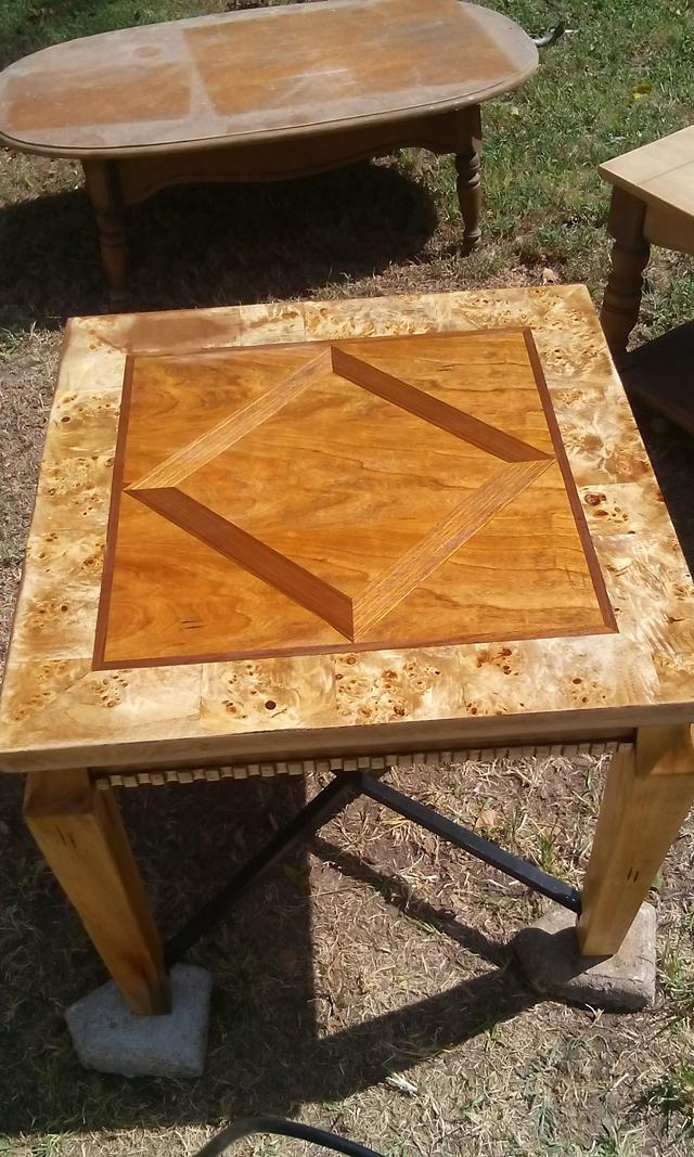 50  refurbished end table