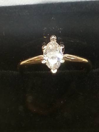 50 carat marquise diamond solitaire 14k -   x0024 450  sherman