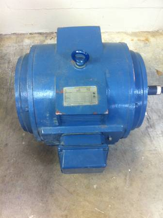 New Electric Motor 60 H.P. A.O. Smith - $350 (Ft. Worth)