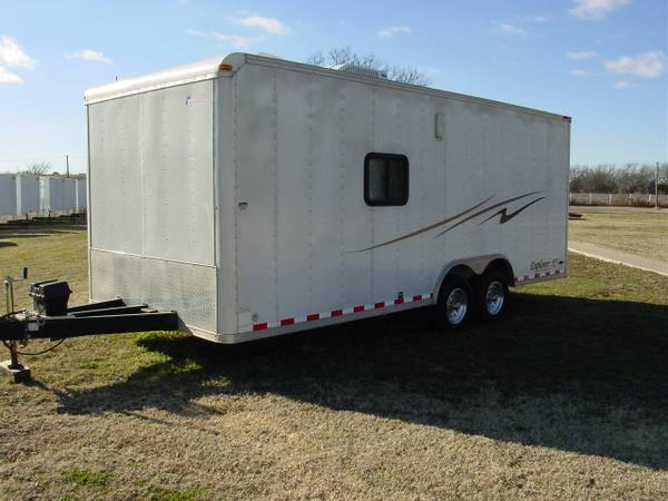 PACE 8X20 TOY BOX TRAILER -   x0024 8500  WHITESBORO