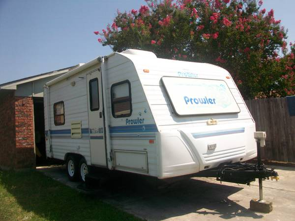 1996 prowler 21ft travel trailer roof ac and heat awning - $4300 (DALLAS TEXAS )