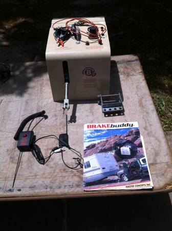Brake Buddy Braking System for Towed Car - $400 (Denison, TX)