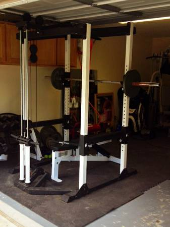 Nautilus Power Rack NT1200 Weight Cage - $650 (Sherman)