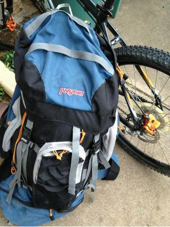 Jansport Rockies 100 internal frame backpack hiking cing - $45 (Sherman tx)