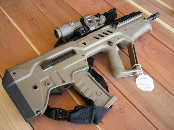 2 500  LOADED IWI TAVOR SAR  223 FLAT DARK Earth