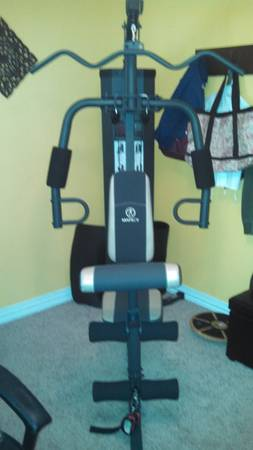 Marcy total gym weight set exercise - $250 (Colbert OK)