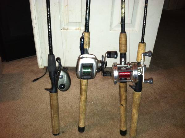 fishing rods reels Nice - $80 (gainesville tx )