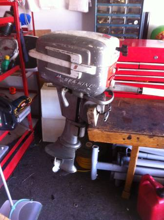 Sea king omc 5hp outboard boat motor - $100 (Denison Texas)