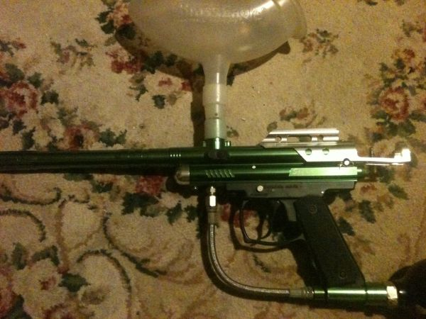 Paintball gun spyder aggressor XT with accessories - $30 (Denison)