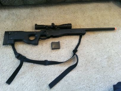 Airsoft L96 gas sniper rifle by GG - $300 (whitesboro tx)