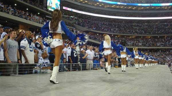 4 Dallas Cowboys vs Oakland Raiders tix Field Level 7 Rows from field - $299 (Cowboys Stadium)