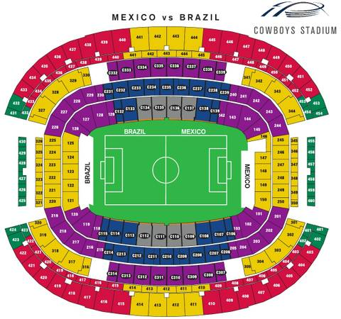 Gold Cup Semifinals - $225 (Oklahoma city)