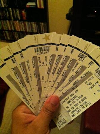 GOLD CUP TICKETS - $60 (Arlington )