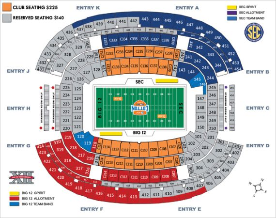 Cotton Bowl-Oklahoma vs Texas AM - $240 (Denison)