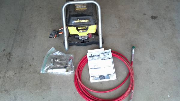 Wagner 770 Paint Crew sprayer - $75 (Denison)